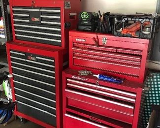 Craftsman & Stack On Toolboxes & Tools