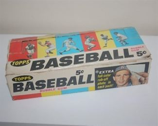 1966 TOPPS BASEBALL CARDS  ~  BOX ONLY ~ NO CARDS