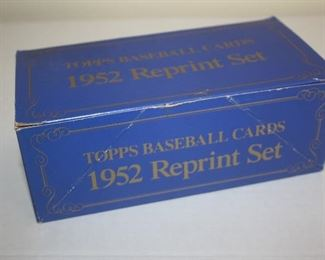 TOPPS 1952 REPRINT CARDS