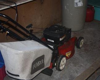 TORO ELECTRIC START MOWER