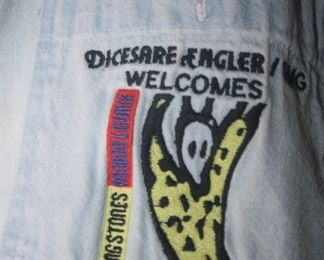 ROLLING STONES 1994 TOUR AT THREE RIVERS STADIUM . SHIRT FOR STAFF ONLY