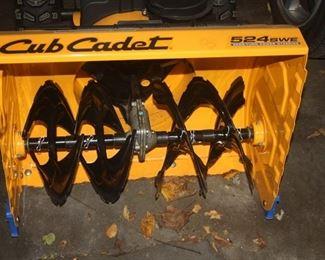 "CUB CADET 24 "" SNOW BLOWER"