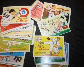 1970 LAUGHLIN WORLD SERIES CARDS