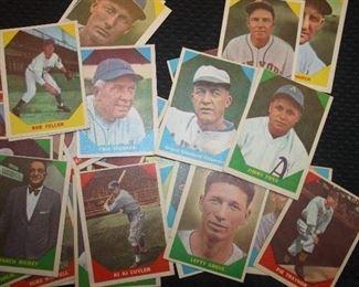 1960 FLEERS BASEBALL CARDS