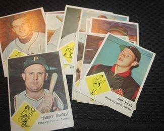 1963 FLEER BASEBALL CARDS