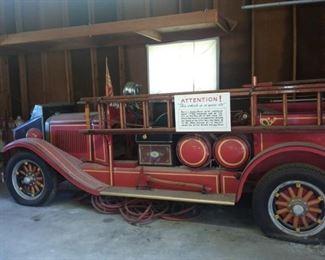 1926 Fargo Fire Truck!