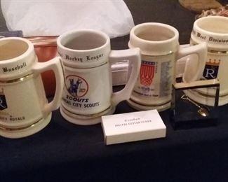 Kansas City Royaols Scouts Mug Steins
