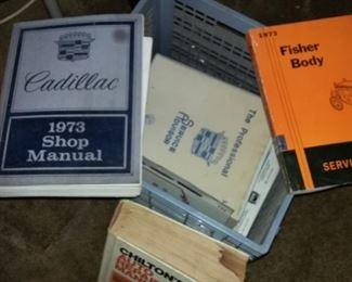 Vintage Car Cadillac Manuals
