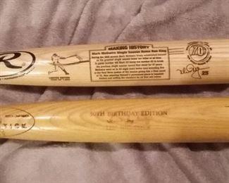 Baseball Bat Collection