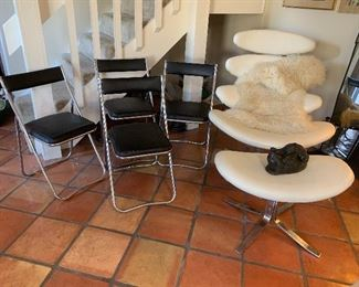 Nevco folding chairs