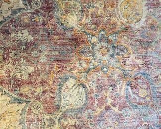 Muted Colors Room Size Rug