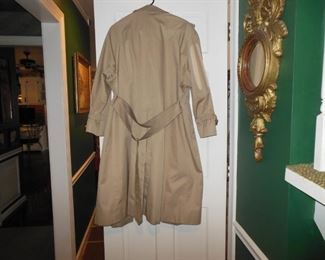 Ladies Burberry Trench Coat...could say new..size 12