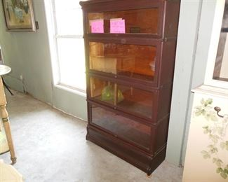 Globe Wernicke Co Barrister Bookcase Patented 1891