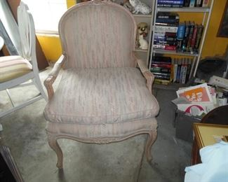 French Chair With Down Filled Cushion