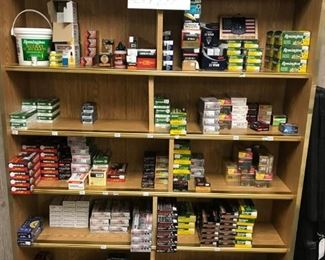 More shelves of ammunition of all sizes and shapes