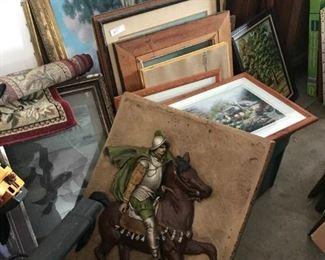 Quality artwork and statuary