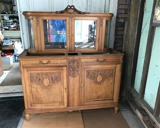 French buffet dining room  cabinet (off site)