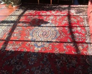 Very Large Beautifully designed Persian Rug professionally cleaned and appraised