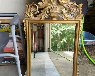 Golden Fleur Mirror
