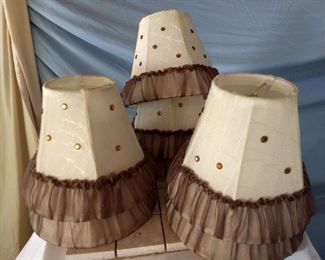 7 cute lamp shades for a chandelier or other use