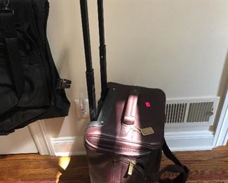 CLAIRE CHASE LEATHER LUGGAGE
