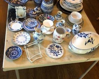 stoneware, china, and spongeware