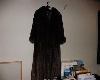 ·Full Length Beaver Coat