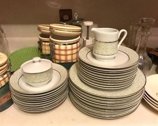 Multiple sets of dishes and china available!