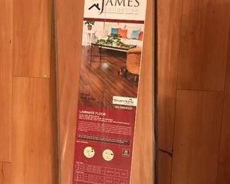 3+ boxes of unused laminate flooring