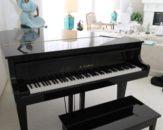Lovely black lacquer piano