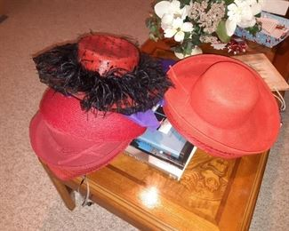 Red hats for the red hat lady Society