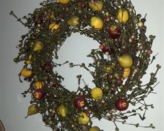 Fruit and Berry wreath