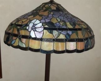Mini stained glass lamps