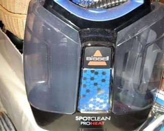 Bissell spot-clean ProHeat carpet cleaner