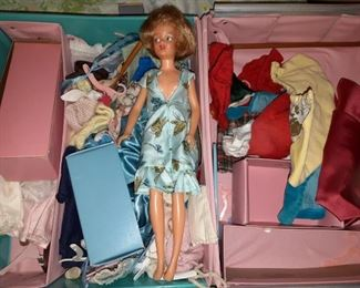 Vintage dolls and clothes
