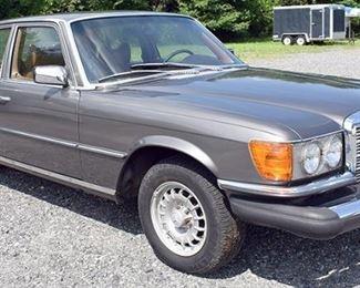 At 8PM: Estate Auto: 1980 Mercedes-Benz 300SD Turbo Diesel Sedan with 71,007 Miles. Ready to go!