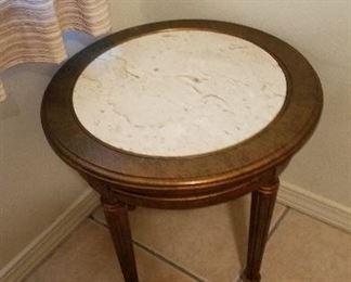 Italian marble top table