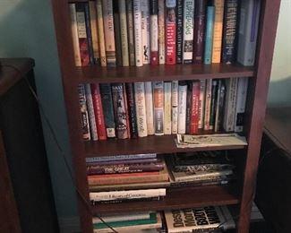 Wood 4 Shelf Bookcase