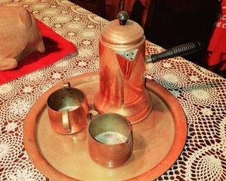 Copper 4-Piece Serving Set
