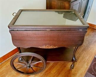 Vintage Serving Cart/Tray