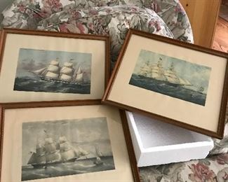 Old Maritime prints