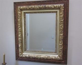 Many Beautiful Ornate Gold Gilt Mirrors
