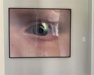 Tony Tasset, Eyeball, Award Winning Chicago Artist