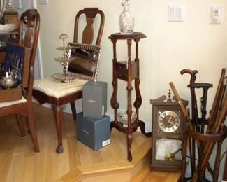 ANTIQUE CANES AND FURNITURE