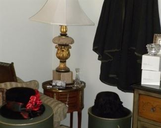 VINTAGE HATS AND DECOR