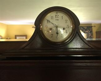 Antique mantel clock. Made in New York.