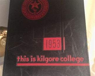 Kilgore yearbook