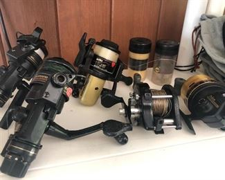 We have a game house full of fishing equipment; including rods and reels, lures,  as well as hunting equipment.?