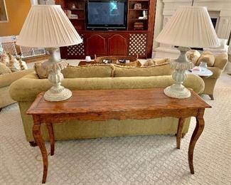 Guy Chaddock sofa table