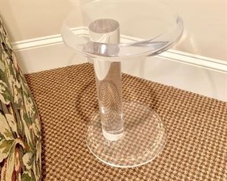 Small lucite table